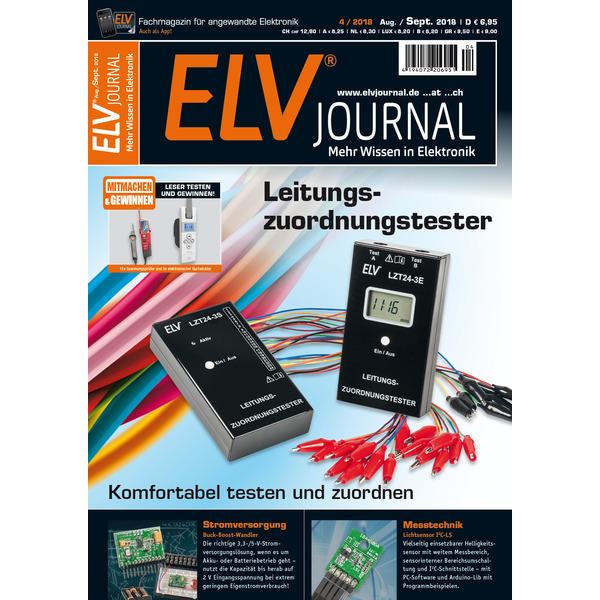 ELVjournal Ausgabe 4/2018 Print (Schweiz)