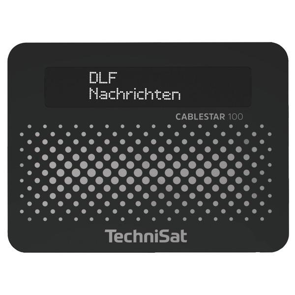 TechniSat Digitaler DVB-C Kabel-Radio-Adapter CABLESTAR 100