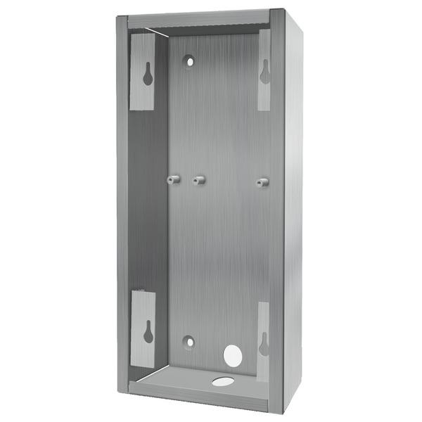 DoorBird Edelstahl-Aufputzgehäuse für DoorBird D2101V