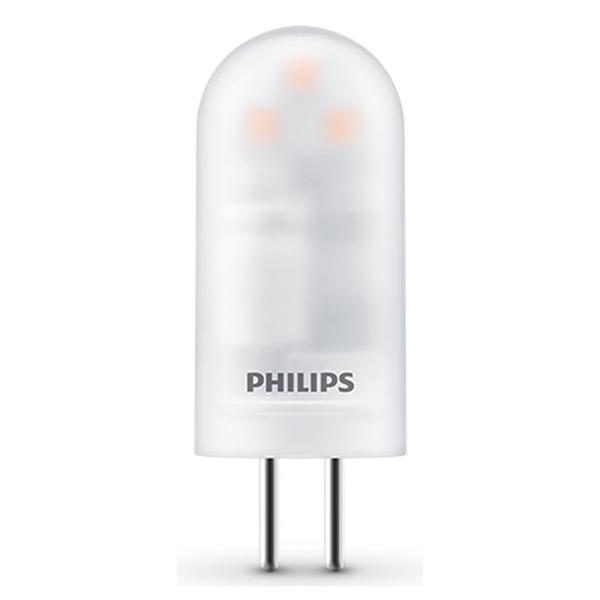 Philips 0,9-W-G4-LED-Lampe, warmweiß, 12 V AC, Höhe nur 38 mm