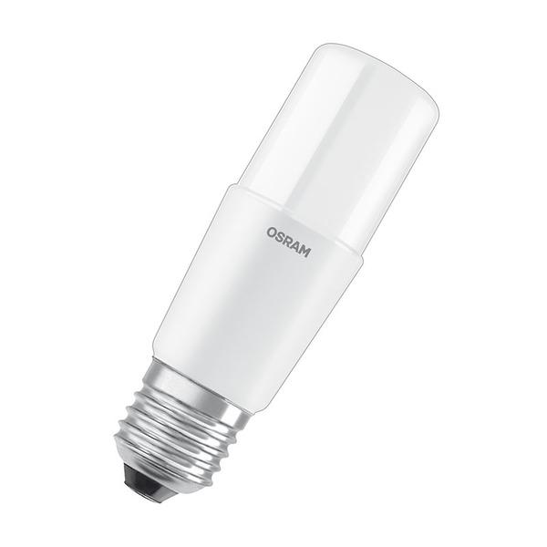 OSRAM LED STAR 10-W-LED-Lampe E27, warmweiß, schlanke Ausführung, Ersatz für 75-W-Glühlampen