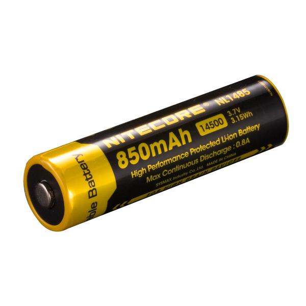 NiteCore Lithium Ion Akku 14500 850 mAh, NL 1485