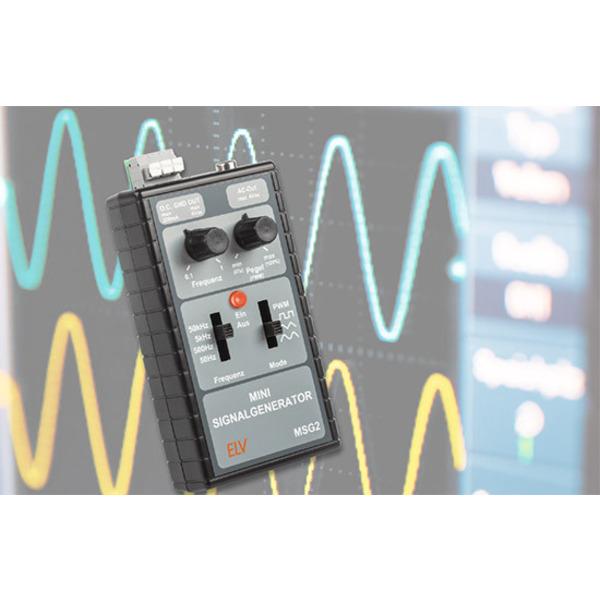 Mobiler Laborhelfer - Mini-Signalgenerator MSG2
