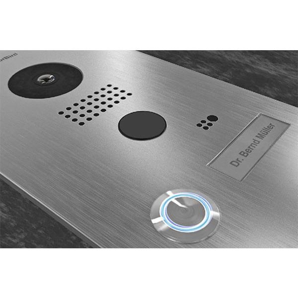 Sicherheit und Komfort an der Haustür - Klingel-/Audio-/Video-Türsprechanlagen