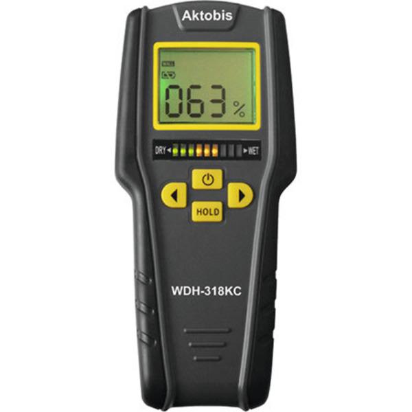 Leser testen das Materialfeuchte-Messgerät WDH-318KC