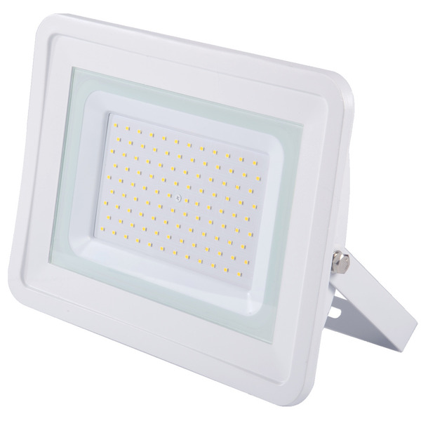 Optonica 100-W-LED-Fluter, neutralweiß, 8.500 lm, IP65