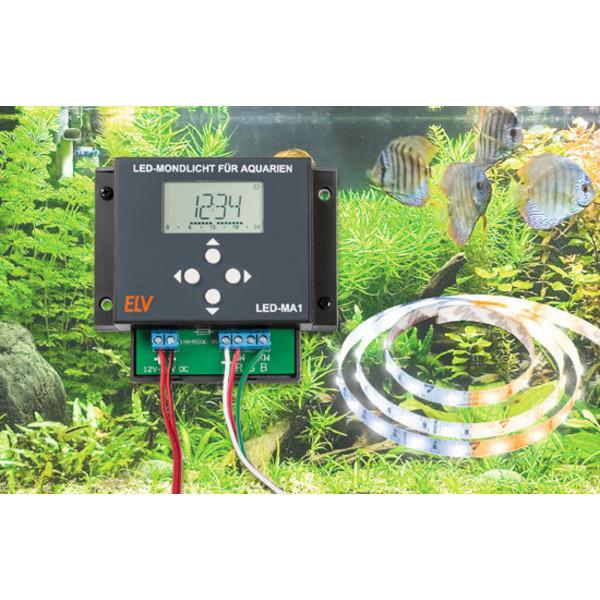 Tagesverlauf nachgebildet - LED-Aquarium-Beleuchtung LED-MA1