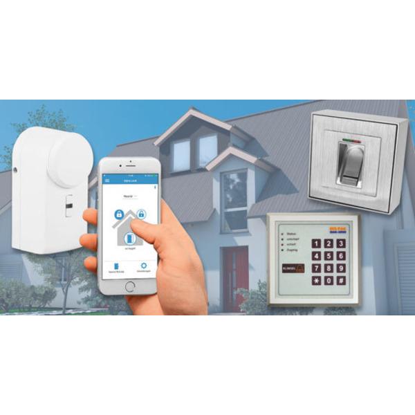 Elektronische Zugangssysteme Teil 1: Bequem und sicher ins Haus