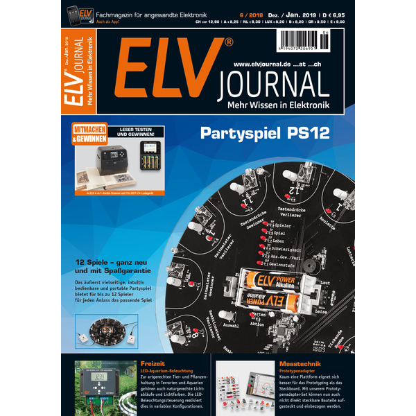 ELVjournal Ausgabe 6/2018 Digital (PDF)