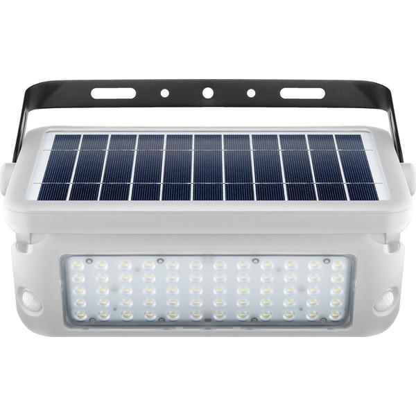 10-W-Premium-Solar-LED-Wandleuchte mit zwei PIR-Bewegungsmeldern, 1080 lm Lichtstrom, weiß