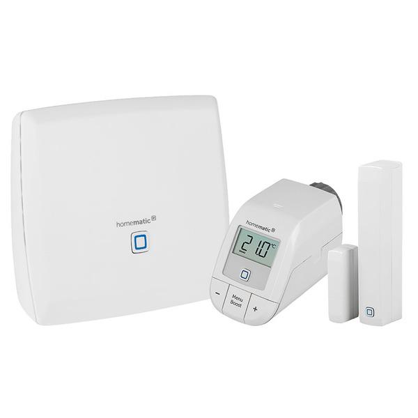 Starter Set Heizen mit Smart Home Zentrale CCU3 und Set easy connect