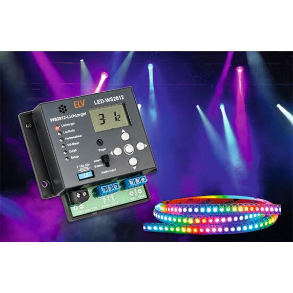 Lichteffekt-Klassiker und mehr - LED-Multieffekt-Lichtorgel WS2812