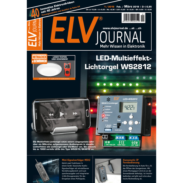 ELVjournal Ausgabe 1/2019 Digital (PDF)