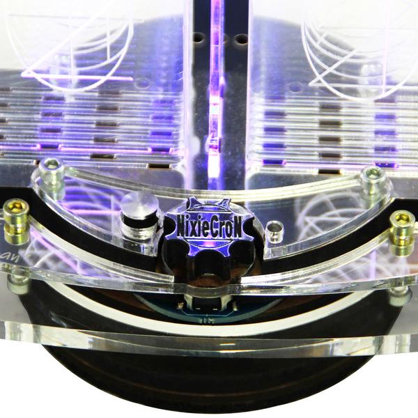 NixieCron Bausatz M4 Uhr, programmierbar, mit Soundausgabe