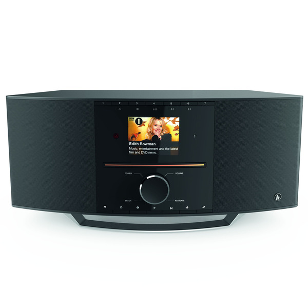 hama Digitalradio DIR3505MSCBT, DAB+/UKW/Internetradio, DLNA, Bluetooth, CD-Player, 40-W-RMS