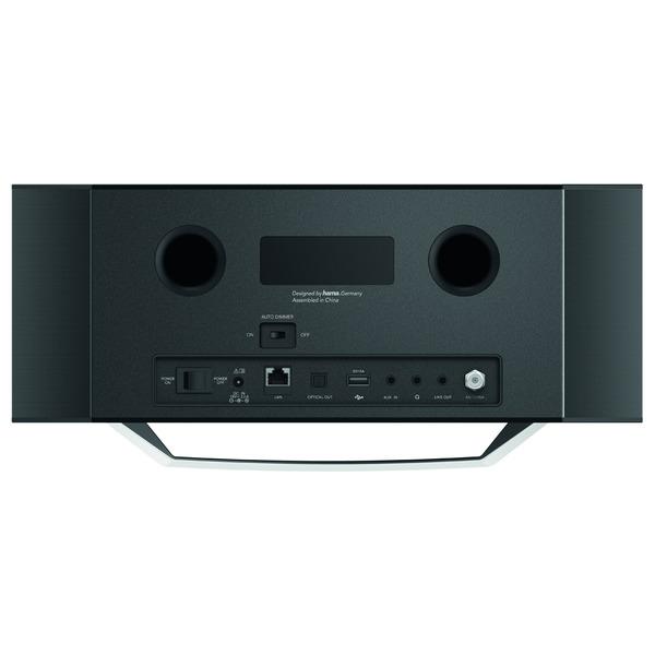 hama Digitalradio DIR3505MSCBT, DAB+/UKW/Internetradio, DLNA, Bluetooth, CD-Player, 40-W-RMS