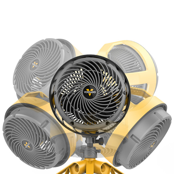 Vornado EXO5 35-W-Ventilator (Zirkulator), Motor staubgeschützt