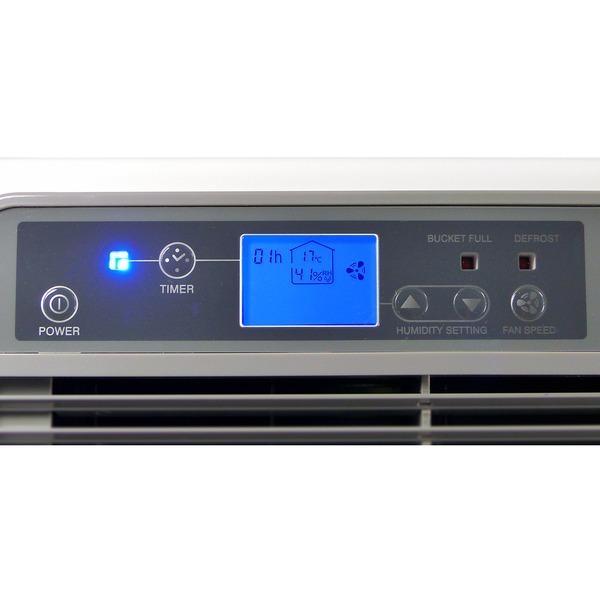 Aktobis AG Kompressor-Luftentfeuchter WDH-725DG mit Anzeige, verstellbare Ausblaslamellen
