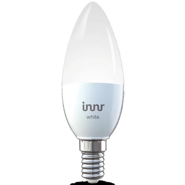 innr 5,3-W-LED-Kerzenlampe E14, warmweiß, kompatibel mit HUE, Echo Plus und Echo Show (2. Gen.)