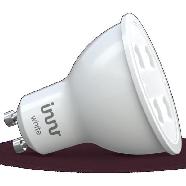 innr 4,8-W-GU10-LED-Lampe, 350 lm, warmweiß, kompatibel mit HUE, Echo Plus und Echo Show (2. Gen.)