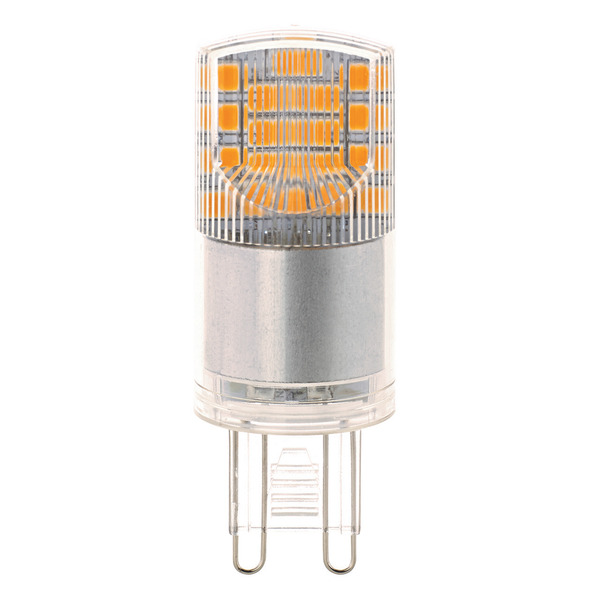 Sigor 3,8-W-G9-LED-Lampe, warmweiß, Ersatz für 40-W-Halogenlampen