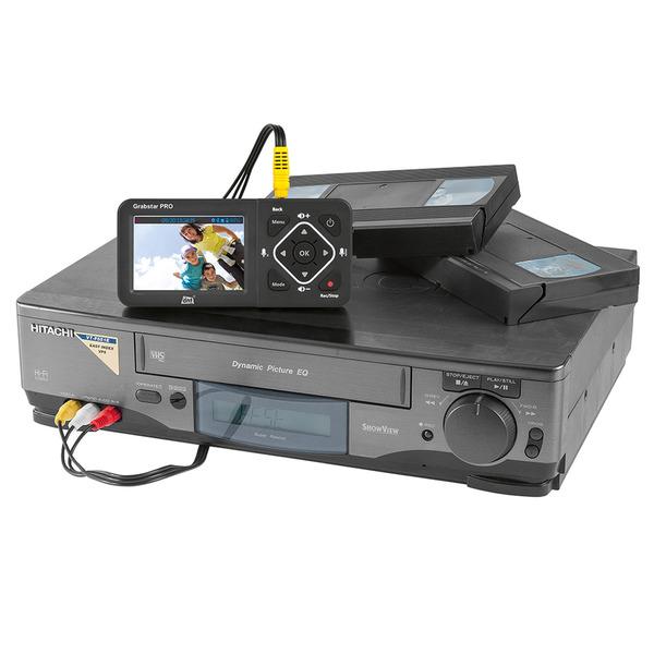 dnt HDMI-Video-Digitalisierer Grabstar PRO, 8,9 cm Vorschaudisplay, bis 1080p/60 fps, USB, SD/SDHC