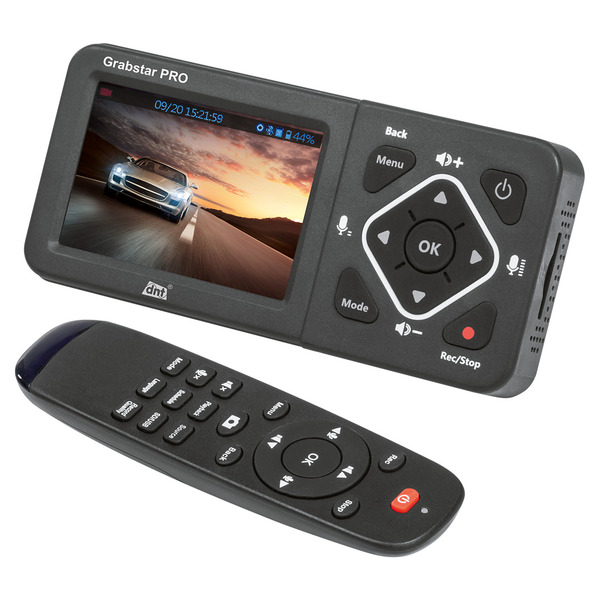 "dnt HDMI-Video-Digitalisierer Grabstar PRO, 8,9 cm (3,5"") Vorschaudisplay, bis 1080p/60 fps, USB, SD"