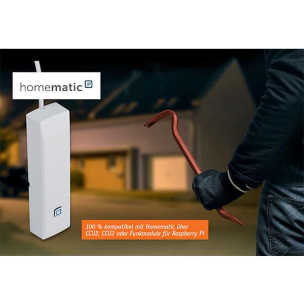 Macht Alarmkontakte smart - Homematic IP Kontakt-Schnittstelle