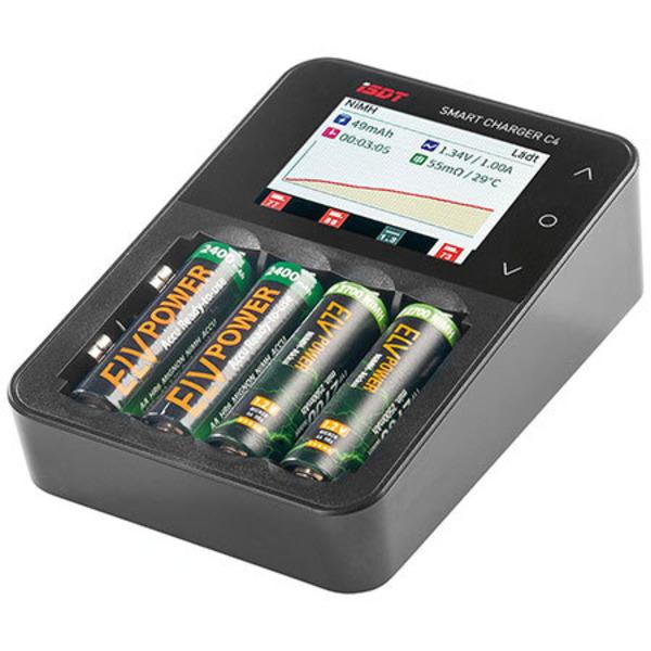Leser testen das Ladegerät ISDT SMART CHARGER C4