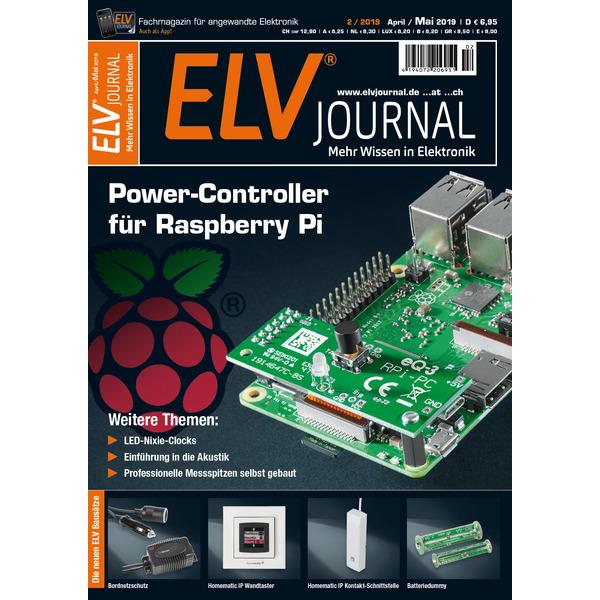 ELVjournal-Komplettausgabe 2/2019