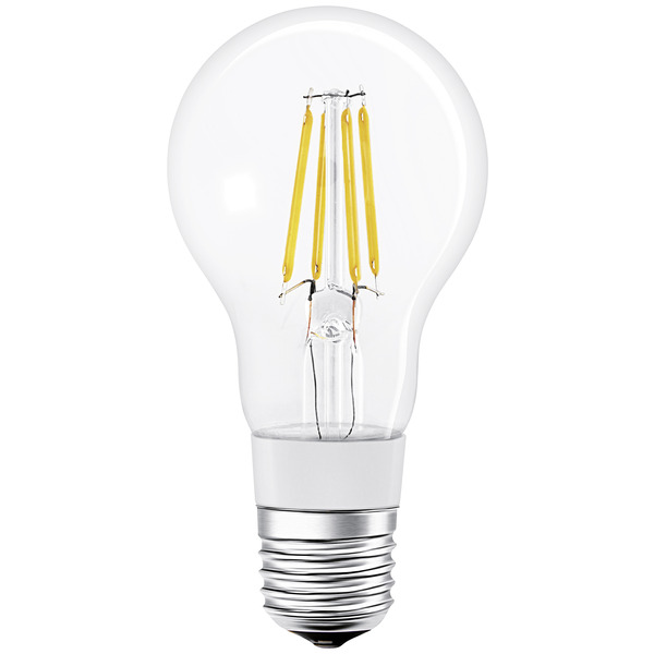 Ledvance SMART+ (Bluetooth) 5,5-W-Filament-LED-Lampe E27, kompatibel mit Apple HomeKit und SMART+ An