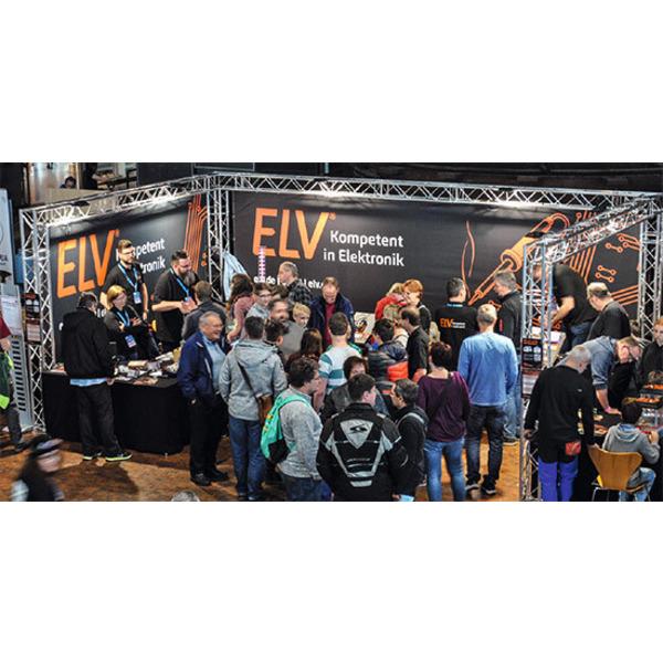 ELV trifft Maker - Maker Faire Ruhr: 6000 Besucher bei der Premiere von ELV