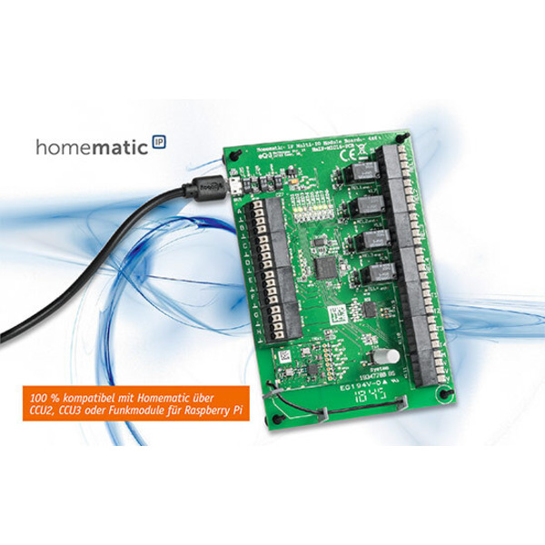Allrad im Smart Home - Homematic IP Multi-IO-Modulpatine - 4 x 4