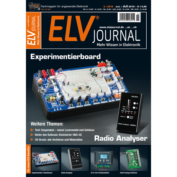 ELVjournal Ausgabe 3/2019 Digital (PDF)