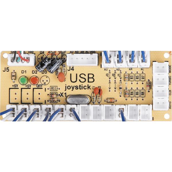 JOY-iT Zero Delay Encoder-Board für Joysticks oder Bedientastern inkl. Kabelsatz
