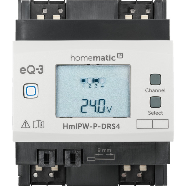 Homematic IP Wired 4-fach-Schaltaktor HmIPW-P-DRS4
