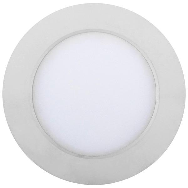 Heitronic 6-W-LED-Einbaustrahler KALLISTO, warmweiß, nur 30 mm Einbautiefe, durchschleifbar, dimmbar