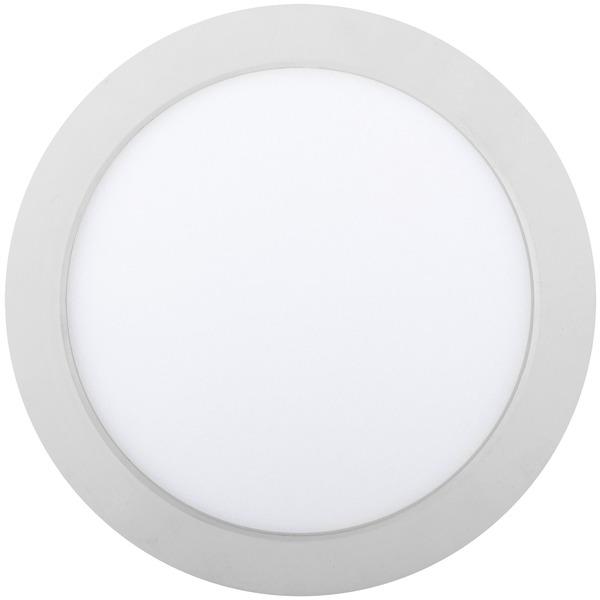 HEITRONIC 18-W-LED-Einbaustrahler KALLISTO, warmweiß, 30 mm Einbautiefe, durchschleifbar, dimmbar