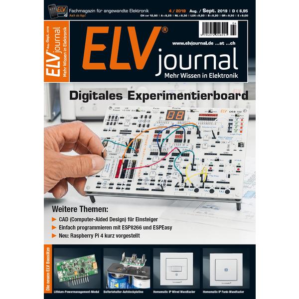 ELVjournal-Komplettausgabe 4/2019