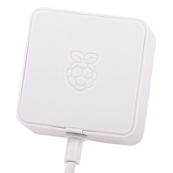 Raspberry Pi 4 USB-Netzteil Typ C, 5,1 V 3A, 1,5 m Kabel, weiß