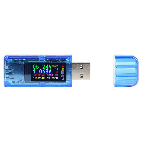 JOY-iT USB-Messgerät AT34 mit Farbdisplay