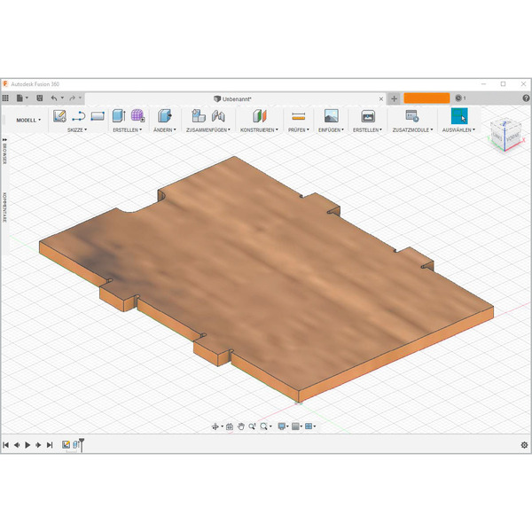 Von der Idee zum Objekt - Einstieg in das Computer-Aided Design (CAD) Teil 2