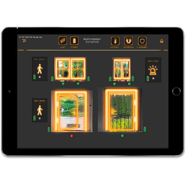 Schickes Smart Home - Visualisierung mit AIO CREATOR NEO und Smart Home Zentrale CCU3 Teil 4