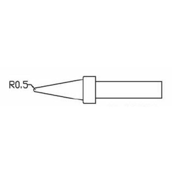 ELV Ersatzlötspitze Bleistiftspitze D = 0,5 mm