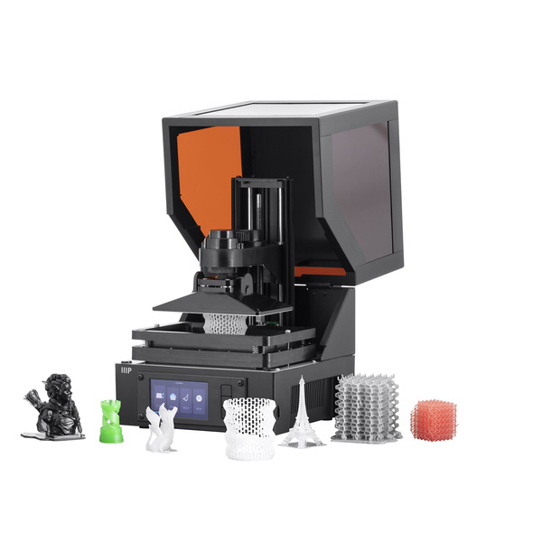 Monoprice Mini-SLA-/LCD-3D-Drucker MP Mini SLA, inkl. Harz/Resin, Fertiggerät