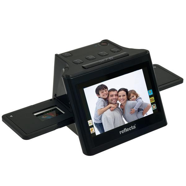 """reflecta Dia-/Negativscanner x11-Scan, 14 Megapixel, IPS-Display 12,7 cm (5""""), RGB-Farbanpasung"""