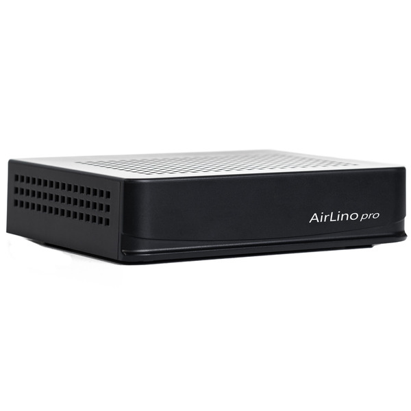 LinTech Musikempfänger AirLino Pro, WLAN (2,4/5 GHz), Bluetooth, Spotify Connect, AirPlay, DLNA, USB