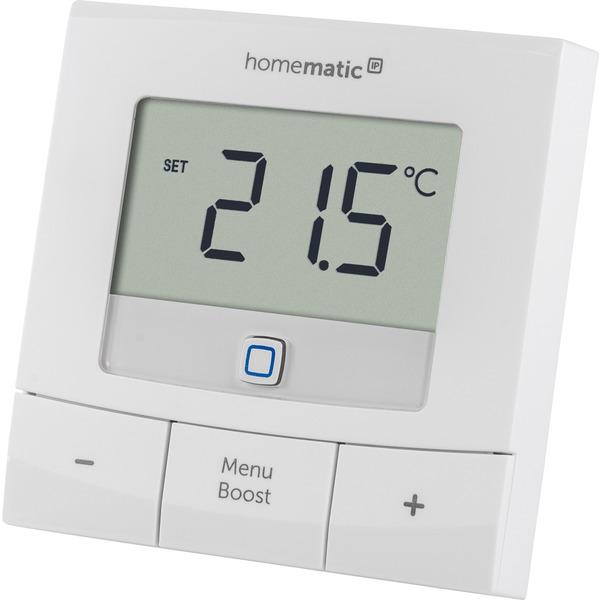 Homematic IP Set Heizen Basic L, 4x Heizkörperthermostat HmIP-eTRV-B & 1x Wandthermostat HmIP-WTH-B