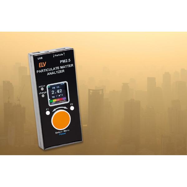Verschmutzte Luft: Feinstaub - Genaue Messungen mit dem ELV Feinstaub-Messgerät PM2.5
