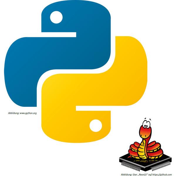 ESP32: Einstieg in MicroPython - Python - der neue Star am Programmiersprachen-Himmel?